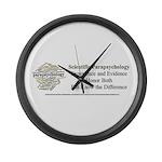 Scientific Parapsychology Large Wall Clock