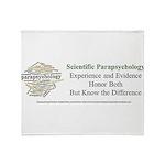 Scientific Parapsychology Throw Blanket