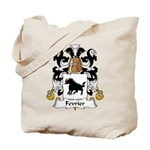 Fevrier Family Crest Tote Bag