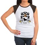 Fevrier Family Crest Women's Cap Sleeve T-Shirt