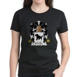 Fevrier Family Crest Women's Dark T-Shirt