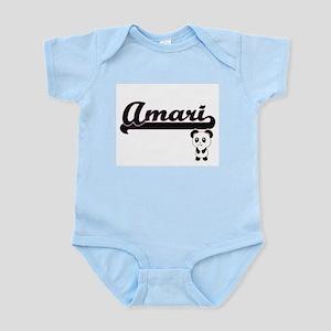 Amari Classic Retro Name Design with Pan Body Suit