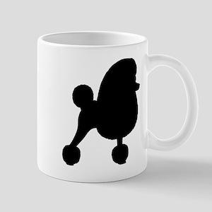 Toy Poodle Silhouette Mug
