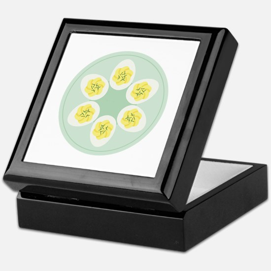 Deviled Eggs Keepsake Box