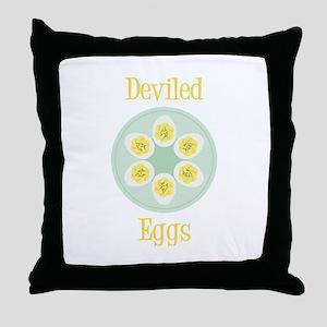 Deviled Throw Pillow
