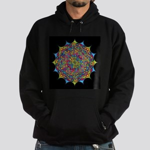 Inside the Bone of a Rainbow Hoodie (dark)