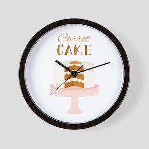 Carrot Cake Dessert Wall Clock