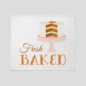 Fresh Baked Throw Blanket