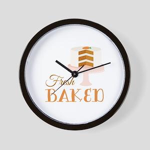 Fresh Baked Wall Clock