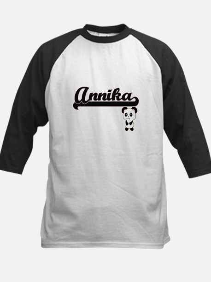 Annika Classic Retro Name Design w Baseball Jersey