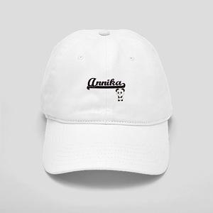 Annika Classic Retro Name Design with Panda Cap
