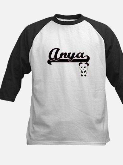 Anya Classic Retro Name Design wit Baseball Jersey