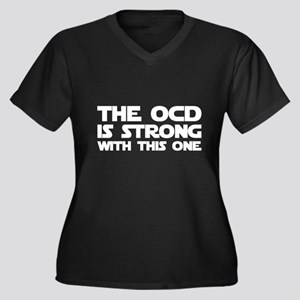 The OCD is Strong With This One Plus Size T-Shirt