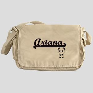 Ariana Classic Retro Name Design wit Messenger Bag