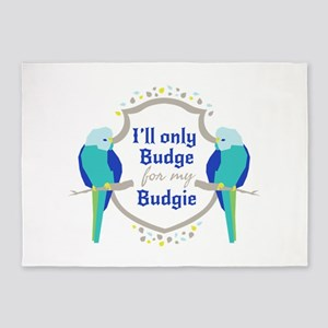 Ill Budge for my Budgie Parakeet Shield Sigil 5'x7