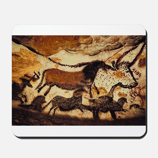 Cave Painting Mousepad