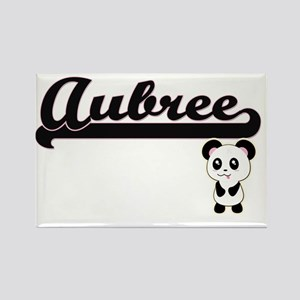 Aubree Classic Retro Name Design with Pand Magnets