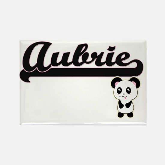 Aubrie Classic Retro Name Design with Pand Magnets