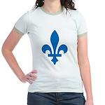 Lys Flower Jr. Ringer T-Shirt