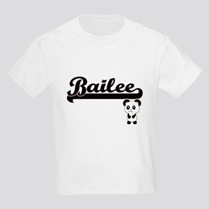 Bailee Classic Retro Name Design with Pand T-Shirt
