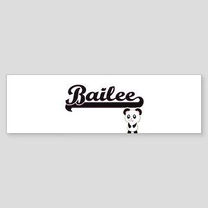 Bailee Classic Retro Name Design wi Bumper Sticker
