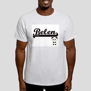 Belen Classic Retro Name Design with Panda T-Shirt