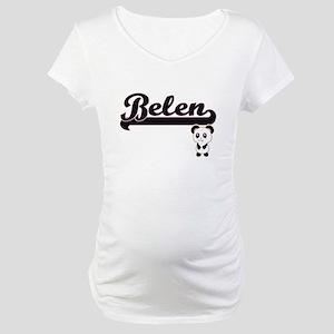 Belen Classic Retro Name Design Maternity T-Shirt