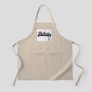 Belen Classic Retro Name Design with Panda Apron