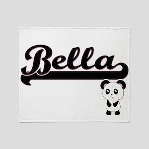Bella Classic Retro Name Design with Throw Blanket