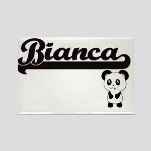 Bianca Classic Retro Name Design with Pand Magnets