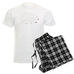 Polar Bear Walking Pajamas