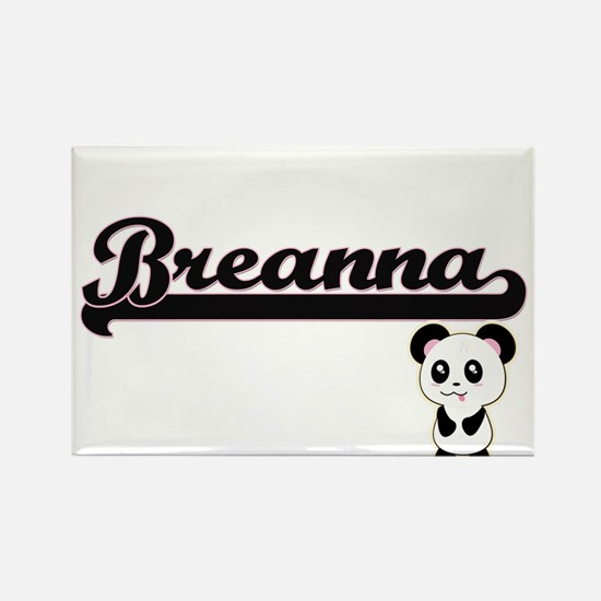 Breanna Classic Retro Name Design with Pan Magnets