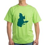 Map alone Green T-Shirt
