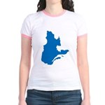 Map alone Jr. Ringer T-Shirt