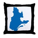 Map alone Throw Pillow