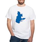 Map alone White T-Shirt
