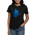 Map alone Women's Dark T-Shirt