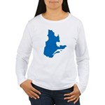 Map alone Women's Long Sleeve T-Shirt