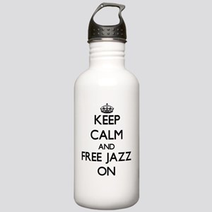 Keep Calm and Free Jaz Stainless Water Bottle 1.0L