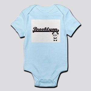 Brooklynn Classic Retro Name Design with Body Suit