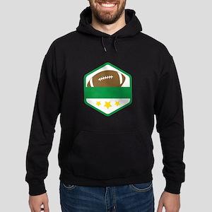 Football Shield Hoodie