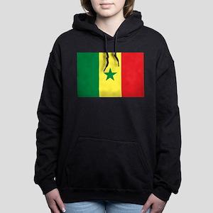 Senegal Flag Women's Hooded Sweatshirt