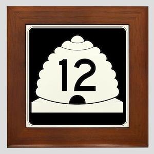 State Route 12, Utah Framed Tile