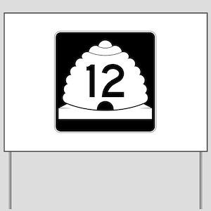 State Route 12, Utah Yard Sign