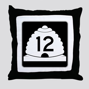 State Route 12, Utah Throw Pillow