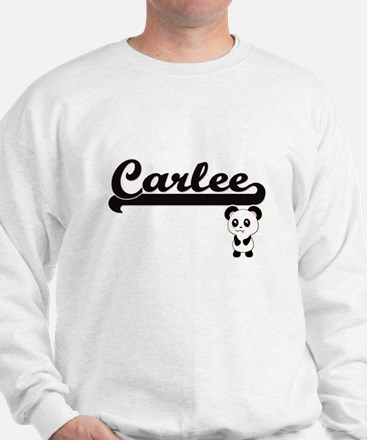 Carlee Classic Retro Name Design with P Jumper