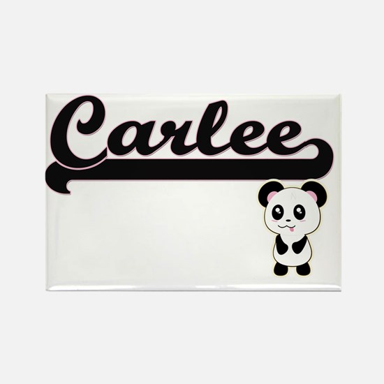 Carlee Classic Retro Name Design with Pand Magnets