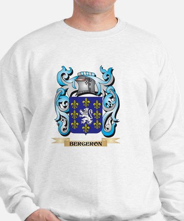 Bergeron Coat of Arms - Family Crest Sweatshirt