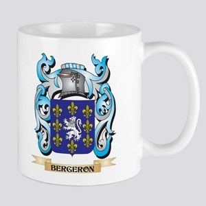 Bergeron Coat of Arms - Family Crest Mugs