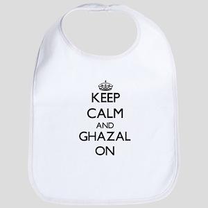 Keep Calm and Ghazal ON Bib